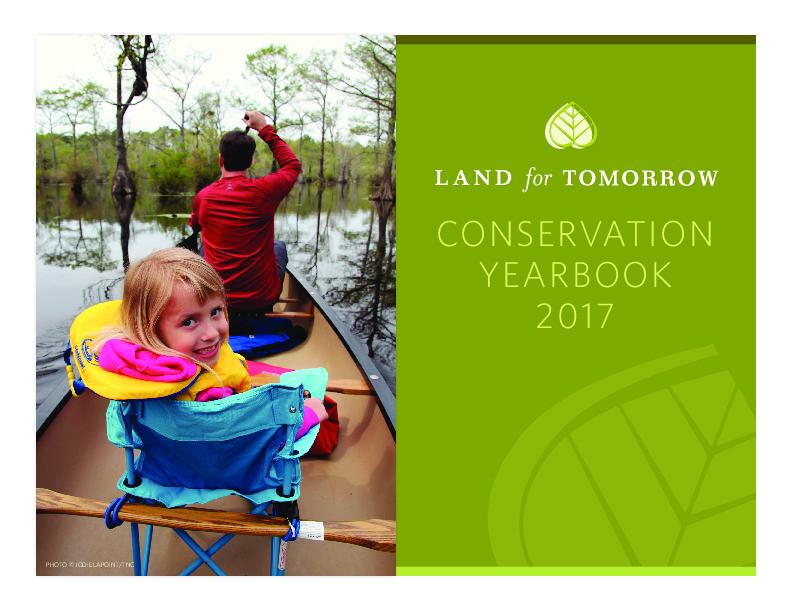 Image of Cover for 2017 Conservation Yearbook
