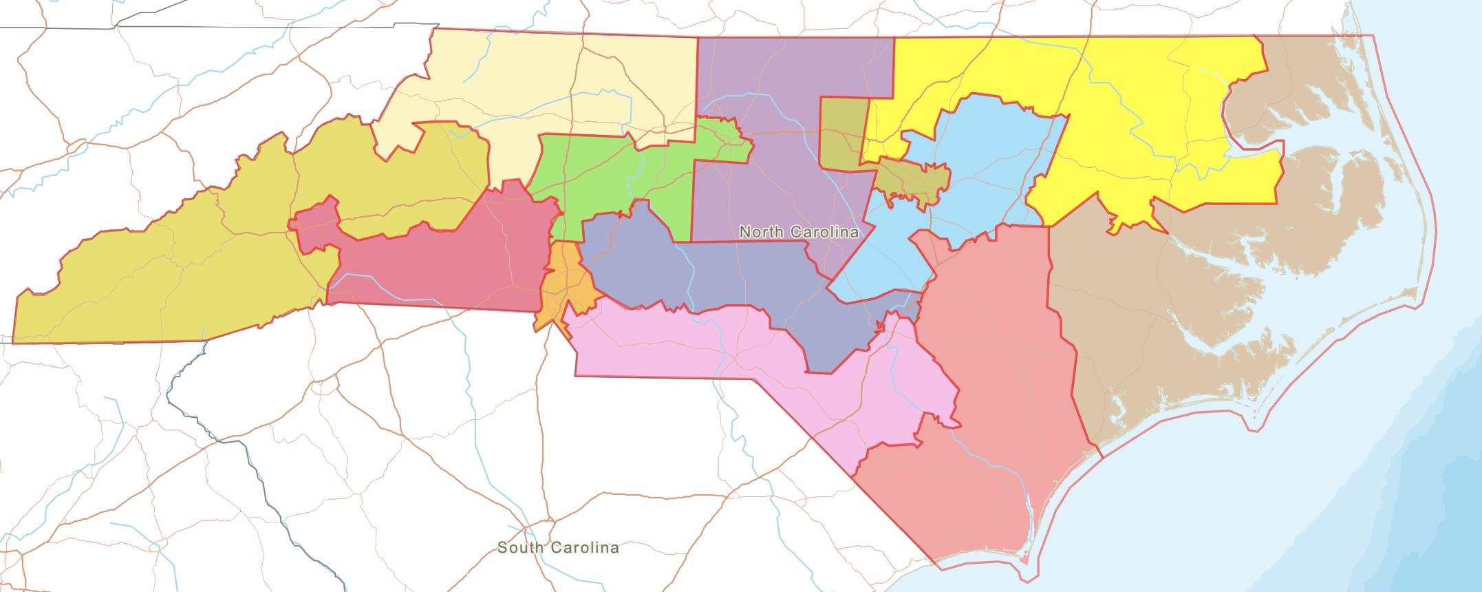 Legislator map